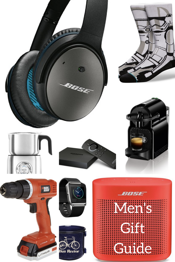 Husband's Gift Guide || Gift Ideas for Men || Men's Gift Guide from healthy lifestyle blogger Heather Brown of MyLifeWellLoved.com