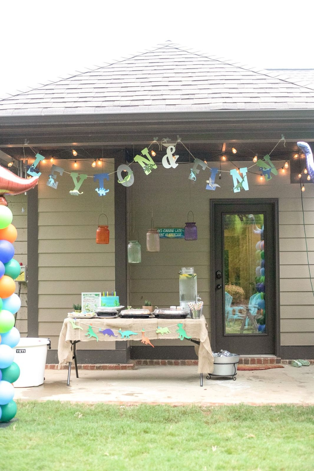 Dino Birthday Party by Alabama Family + Lifestyle blogger, Heather Brown // My Life Well Loved
