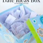 Mommy and Son Date Ideas Box