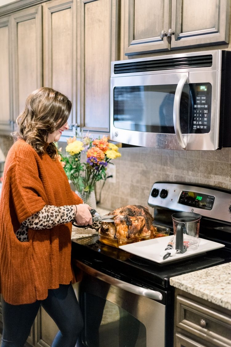 Sharing a turkey recipe sure to please your friends and family this holiday season by Heather at MyLifeWellLoved.com // #cajunturkey #recipe #thanksgivingrecipe