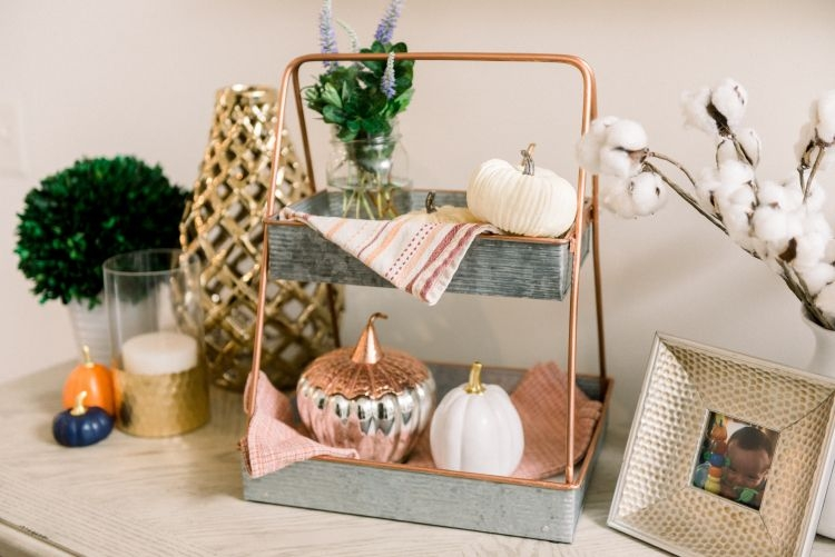 Fall Home Decor Ideas by Heather at MyLifeWellLoved // #falldecor #fall #DIYdecor #momhack