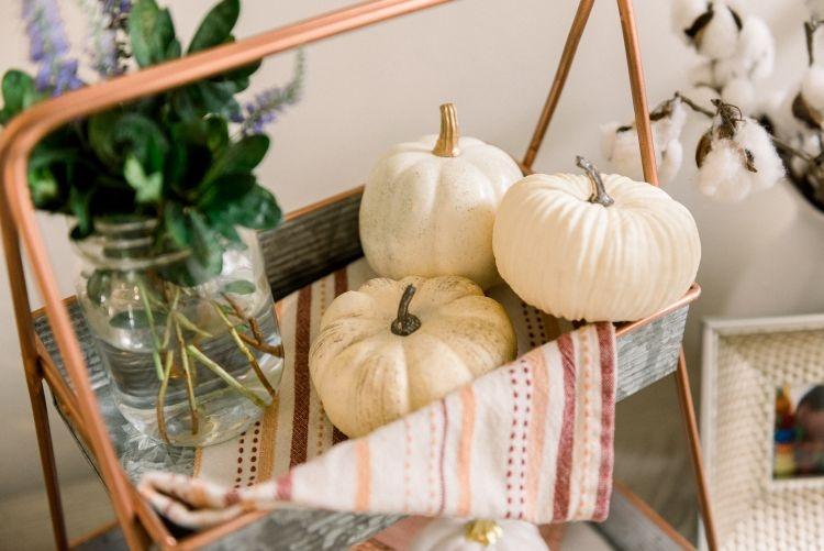 Fall Home Decor Ideas by Heather at MyLifeWellLoved // #falldecor #fall #DIYdecor #momhack