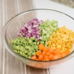 15 Minute Colorful Salad