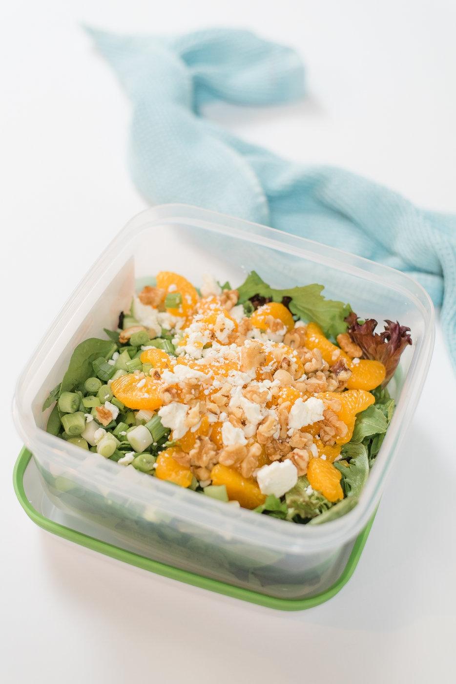 Mandarin Orange Salad Recipe by Alabama Life + Food blogger, Heather Brown // My Life Well Loved