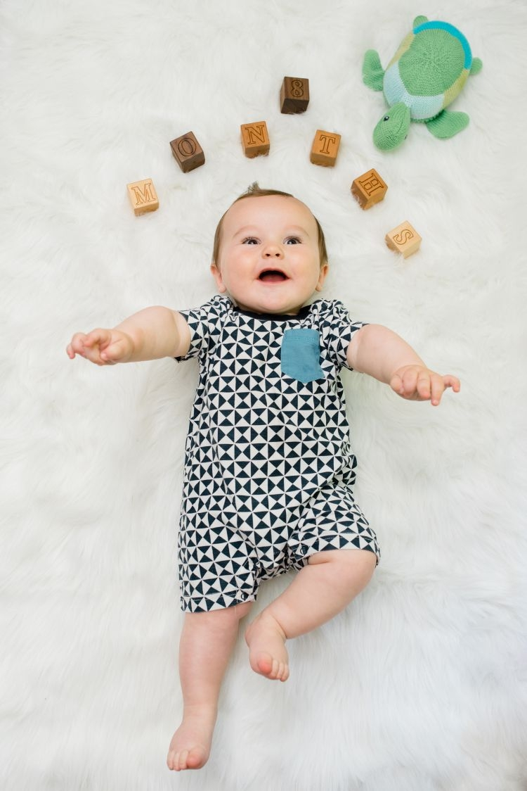 8 months old baby milestones by month