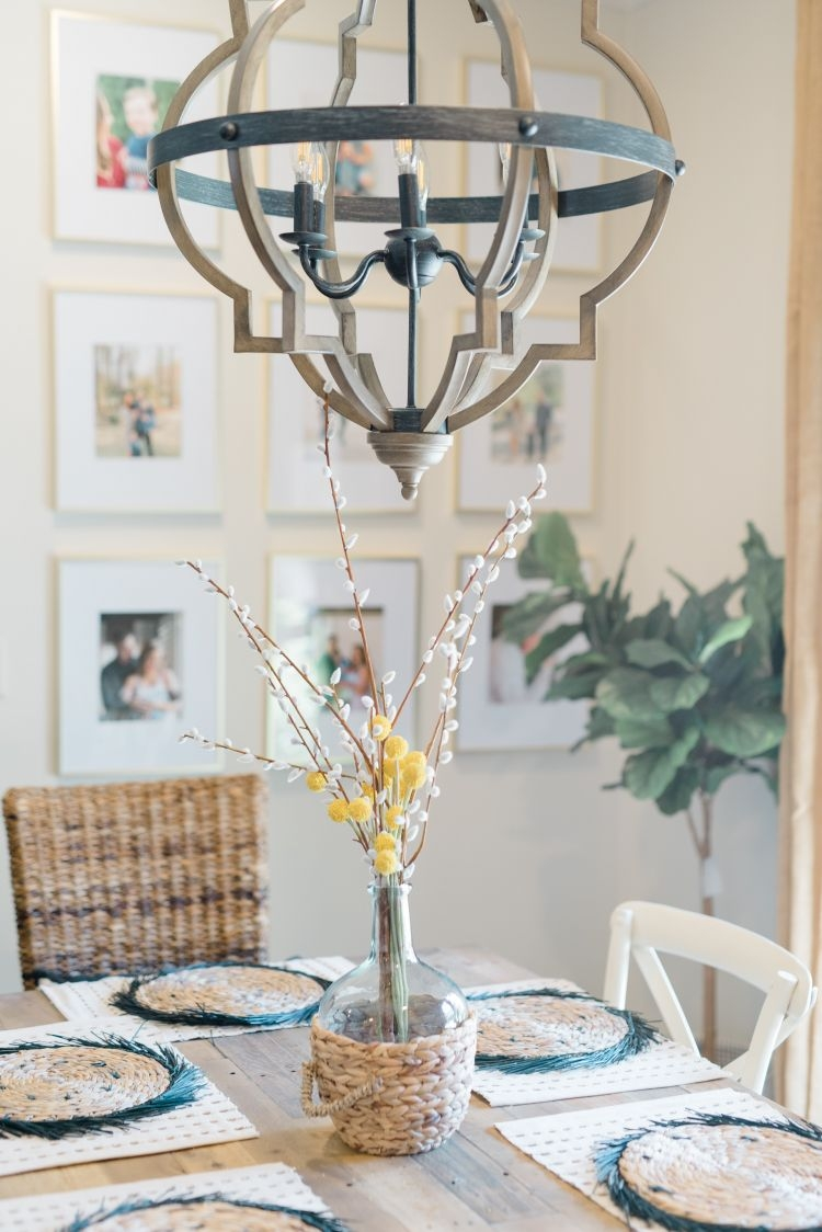 A gorgeous dining room makeover by Alabama life + style blogger, Heather Brown // My Life Well Loved