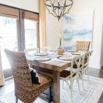 Home Reveal: Farmhouse Modern Dining Room Ideas
