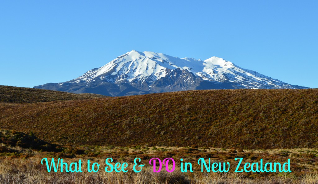 What to See & Do in Taupo NZ
