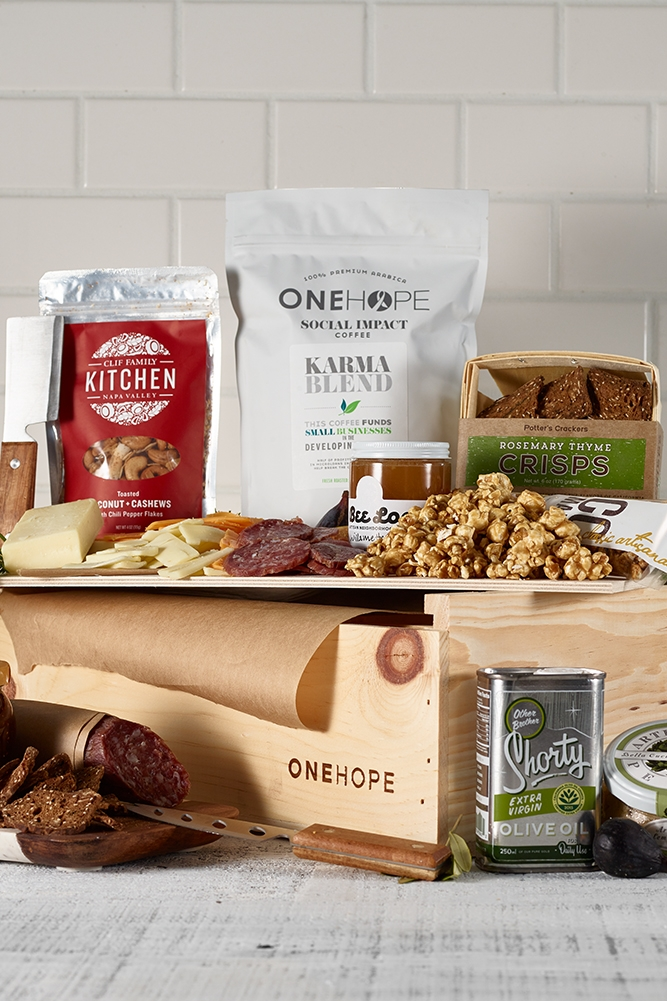 OneHope Cheese Crate on lifestyle sites recommended