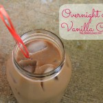 Overnight Vanilla Iced Coffee