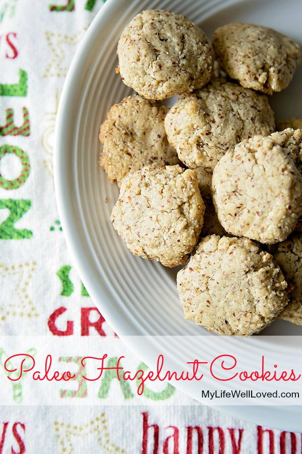 Paleo Hazelnut Cookies from Heather Brown of MyLifeWellLoved.com // healthy breakfast cookie recipe mom will approve! // whole30 cookie recipe