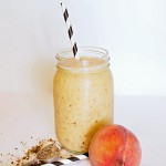 Strawberry Peach Kefir Smoothie