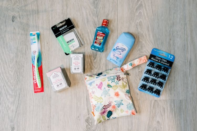A Hospital Bag Checklist from a Second Time Mom and Alabama Blogger, Heather Brown, at MyLifeWellLoved.com // #hospitalbag #pregnancy #momlife