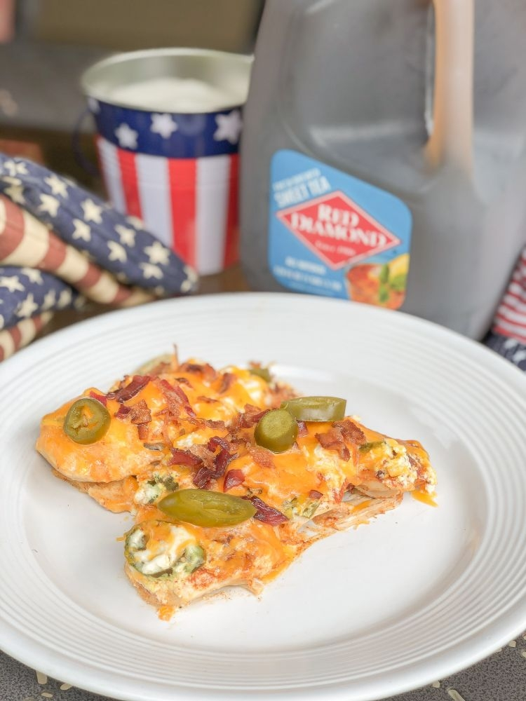 Labor Day BBQ Idea: Jalepeno Popper Chicken Recipe by Life + Style blogger, Heather Brown // My Life Well Loved
