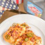 Labor Day BBQ Idea: Slow Cooker Jalapeño Popper Chicken