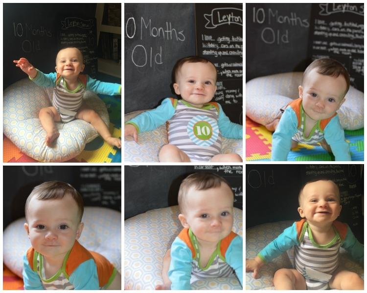 Leyton 10 Months Old