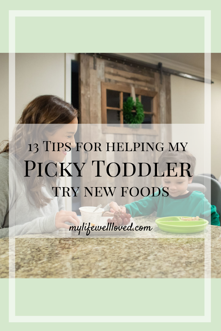Sharing my 3 year old's picky eating update + toddler nutrition tips by Alabama blogger My Life Well Loved // #toddlernutrition #toddlereatingtips #pickytoddlertips #pickytoddler