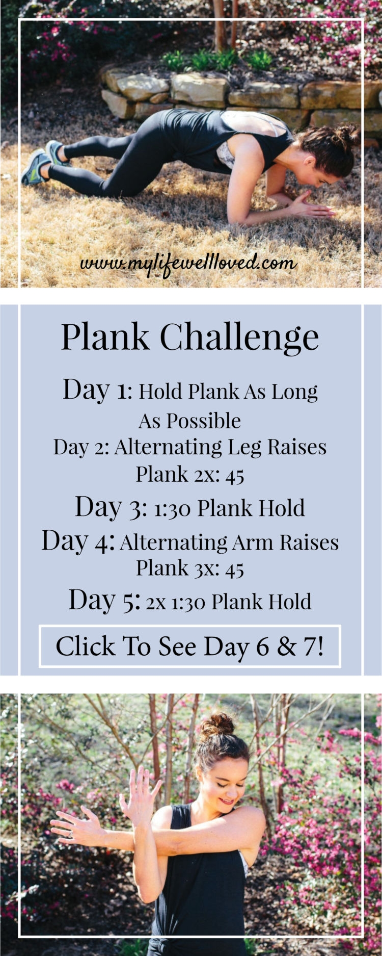 Plank Challenge with Birmingham Healthy Life + Style Blogger, Heather Brown #plankchallenge #fitmom #workout