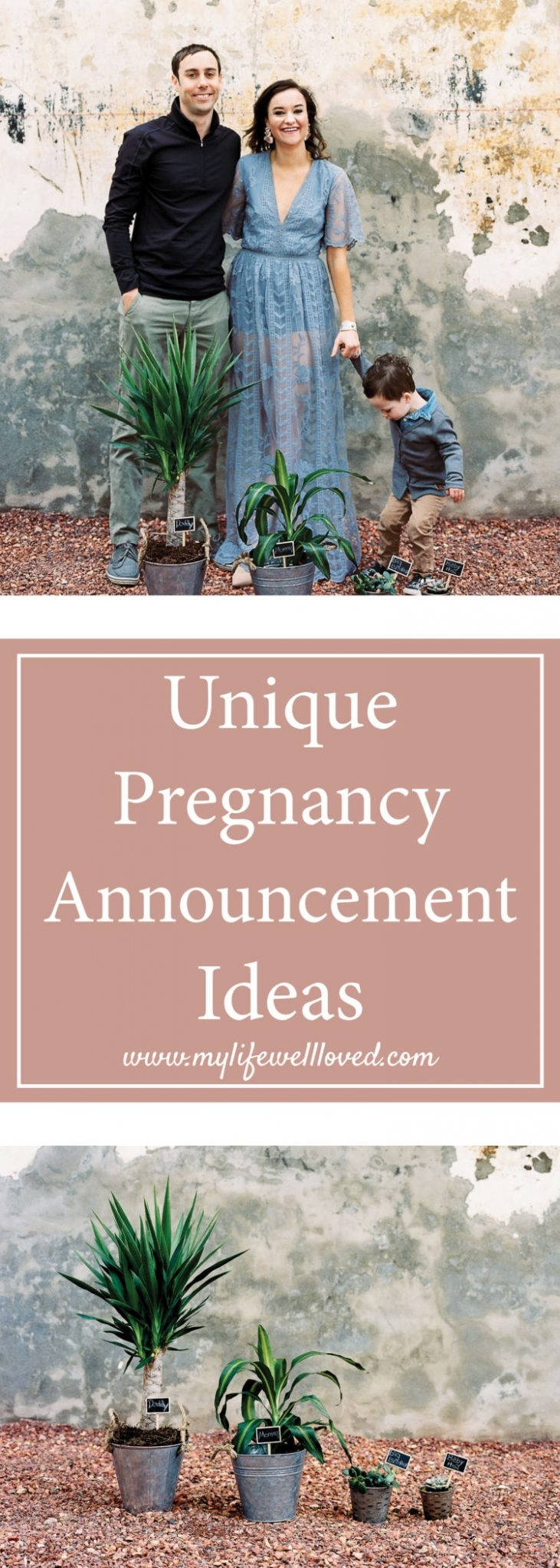 Pregnancy Announcement Ideas from Alabama blogger Heather of MyLifeWellLoved.com // #Pregnancy #announcement #Prenatal #maternity