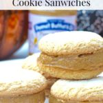 Pumpkin Peanut Butter Cookie Sandwiches