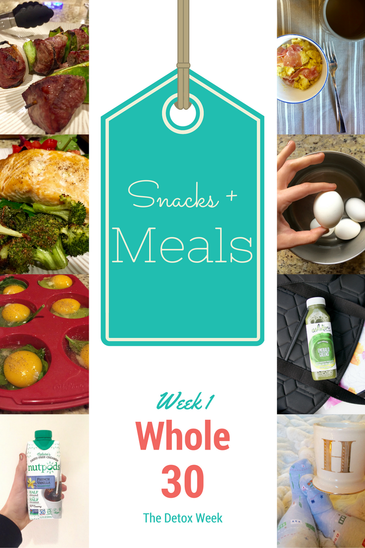 Whole30 Week 1 by healthy living AL blogger My Life Well Loved