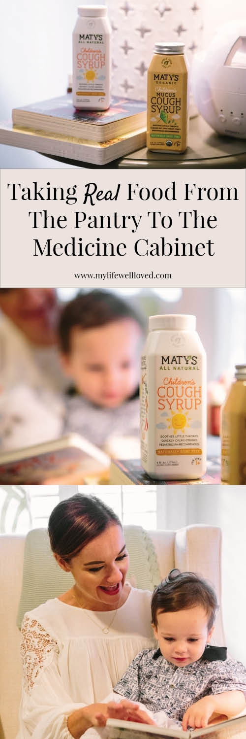 Taking Real Food from the Kitchen to the Medicine Cabinet by Alabama Blogger Heather Brown // natural medicine // natural baby medicine // kids natural cold medicine //