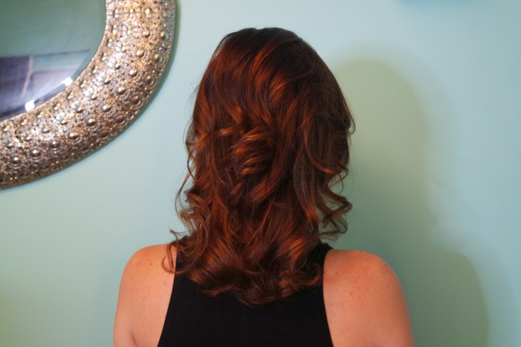 My Life Well Loved: New Mom Cut and Balayage Color