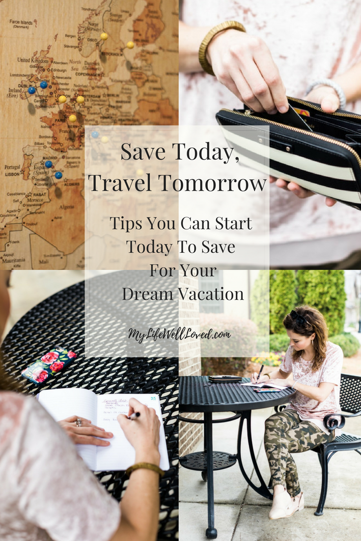 Practical Tips to save money to travel and enjoy other things in life from Heather Brown of MyLifeWellLoved.com I love these tips on how to save money on groceries shopping/Save Money frugal living/save money budget/save money monthly/budget tips and ideas budget living/save money shopping/save money tips/ideas/How to save money fast/