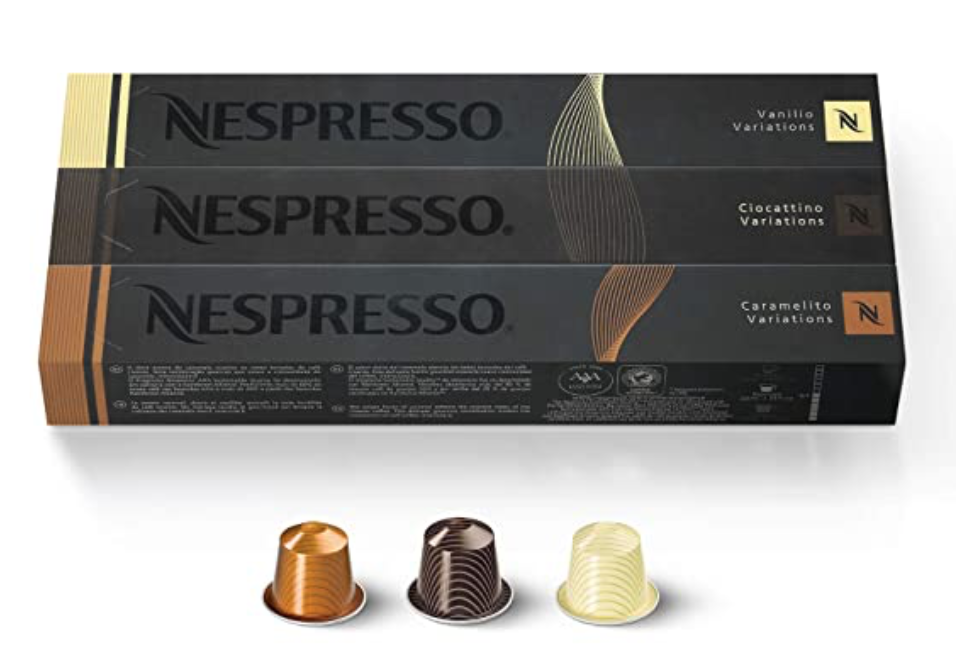 Best healthy drinks on Amazon featured by top AL lifestyle blogger, My Life Well Loved: Nespresso Pods