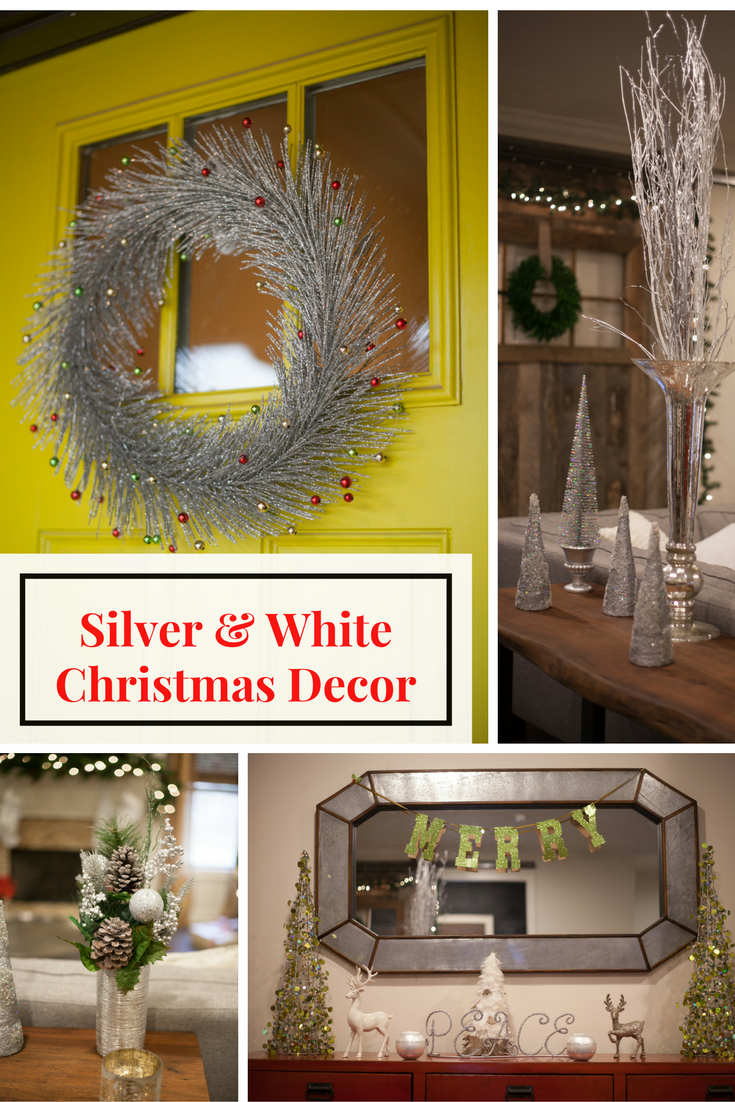 Ultimate Guide | Holiday DIY STYLE | Silver and White Christmas Decorations featured by top Birmingham lifestyle blog My Life Well Loved