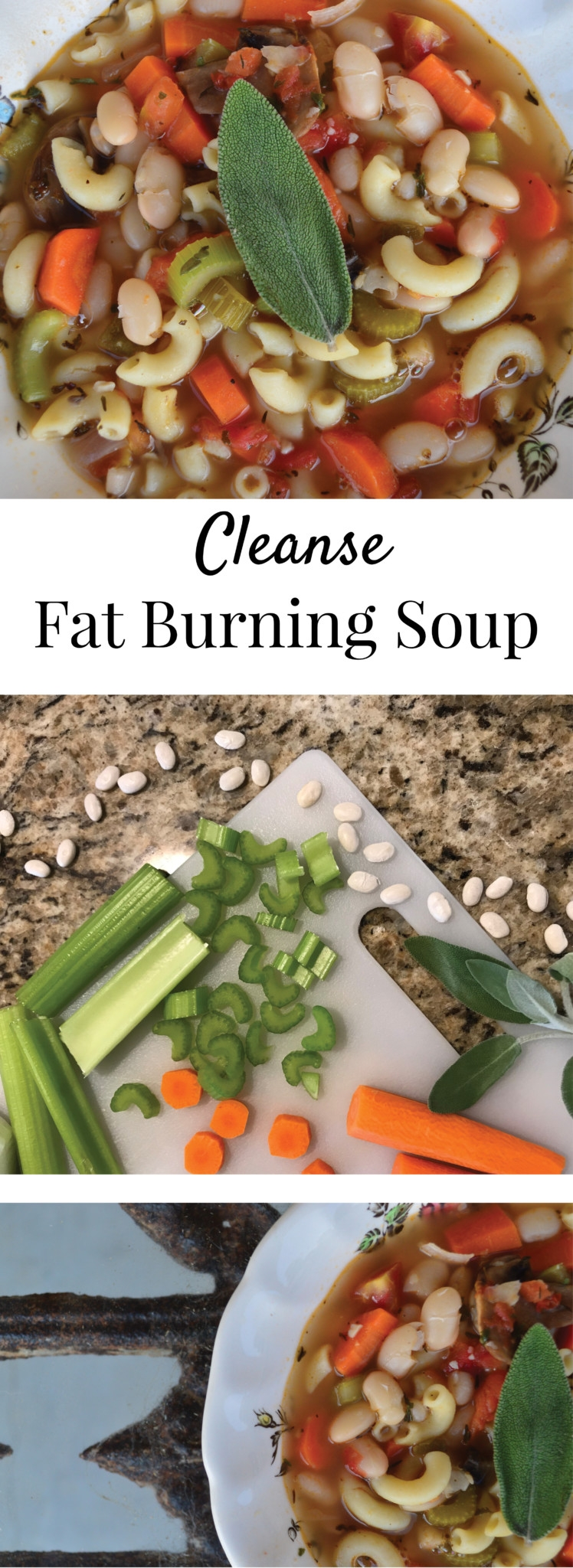 Cleanse Fat Burning Soup by Alabama Blogger Heather Brown // healthy eating // shed weight // veggie soup // light //