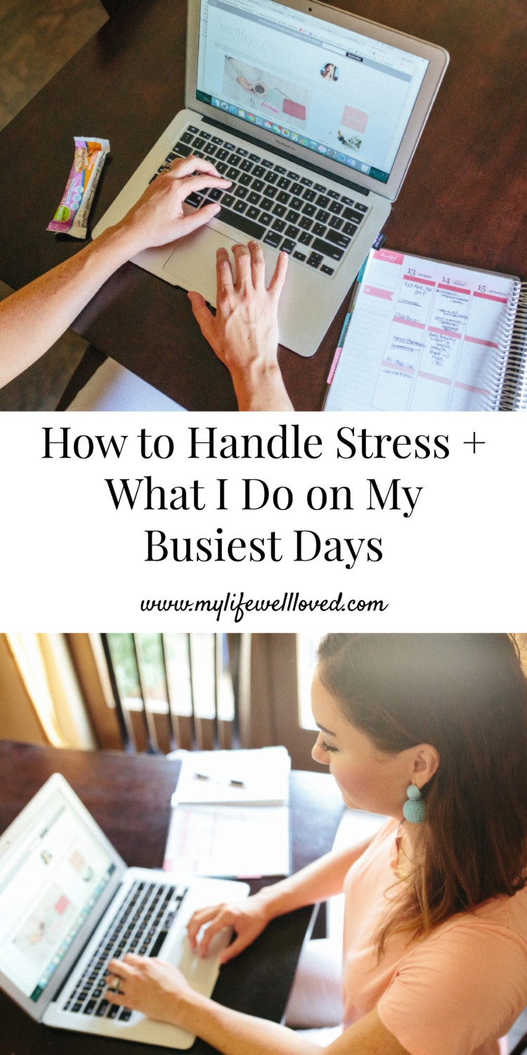 How To Handle Stress + What I DO on My Businest Days by alabama Blogger Heather Brown //