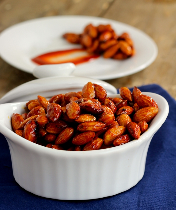 Healthy Appetizers: Sweet and Sour Almonds Recipe