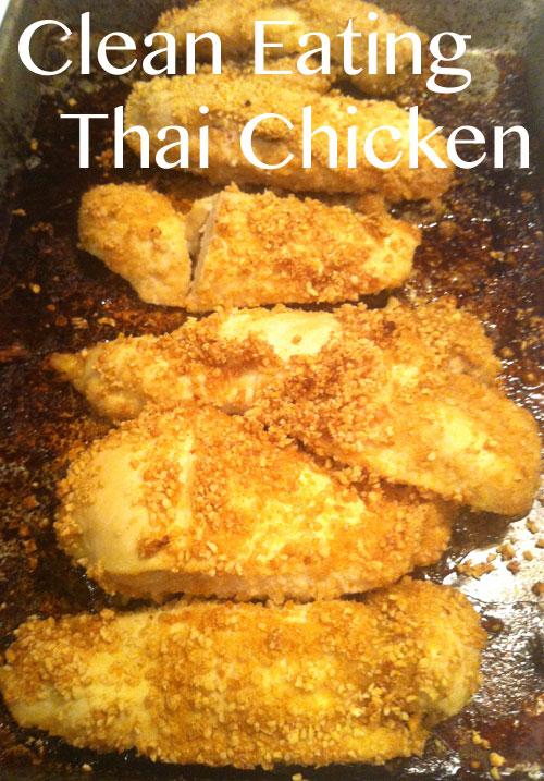 Clean Eating Thai Lime Chicken