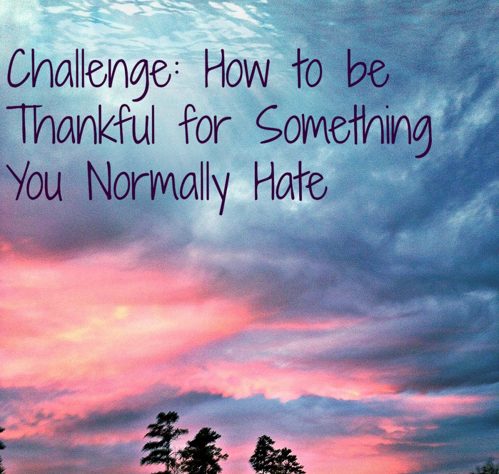 Positive Body Image - How to Be Thankful for Something You Normally Hate by Alabama lifestyle blogger My Life Well Loved