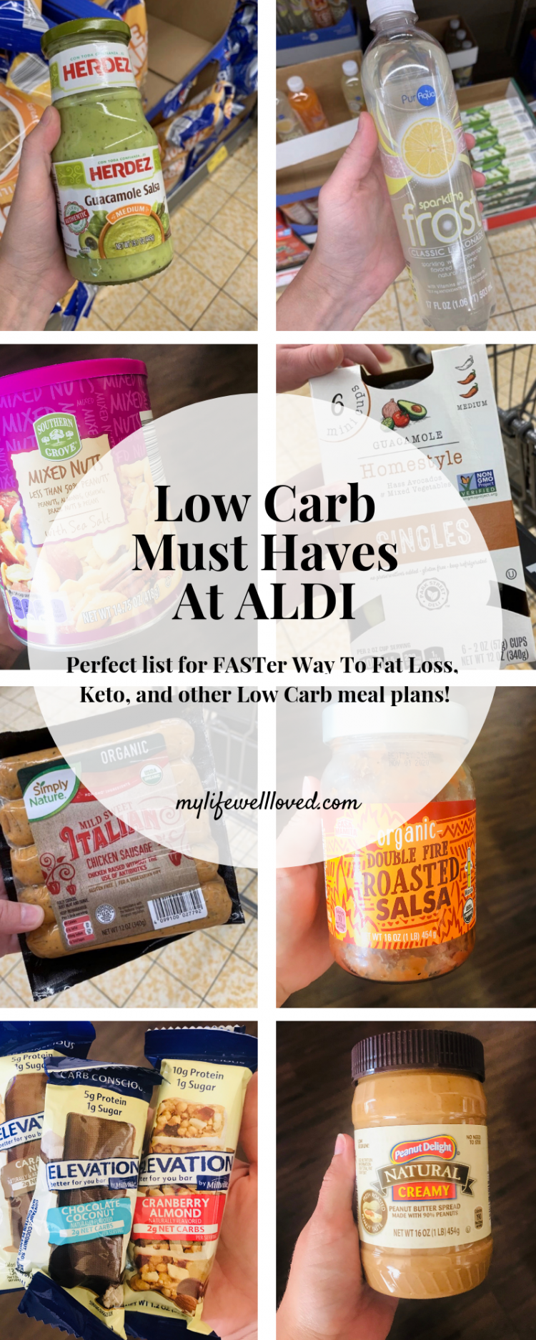 Low Carb Must Haves at ALDI by Health + Fitness Blogger, Heather Brown // My Life Well Loved