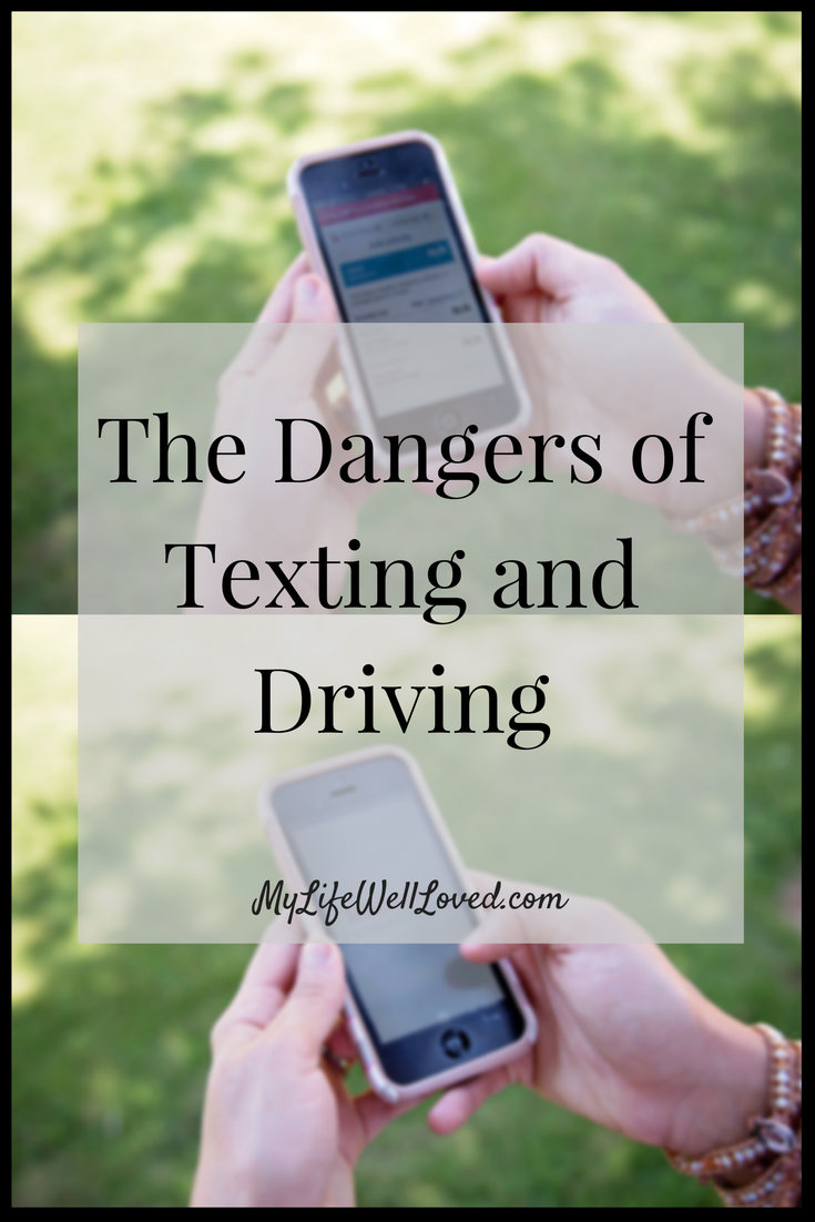 Texting While Driving and how to avoid it. Don't Text and Drive with Allstate from Heather from MyLifeWellLoved