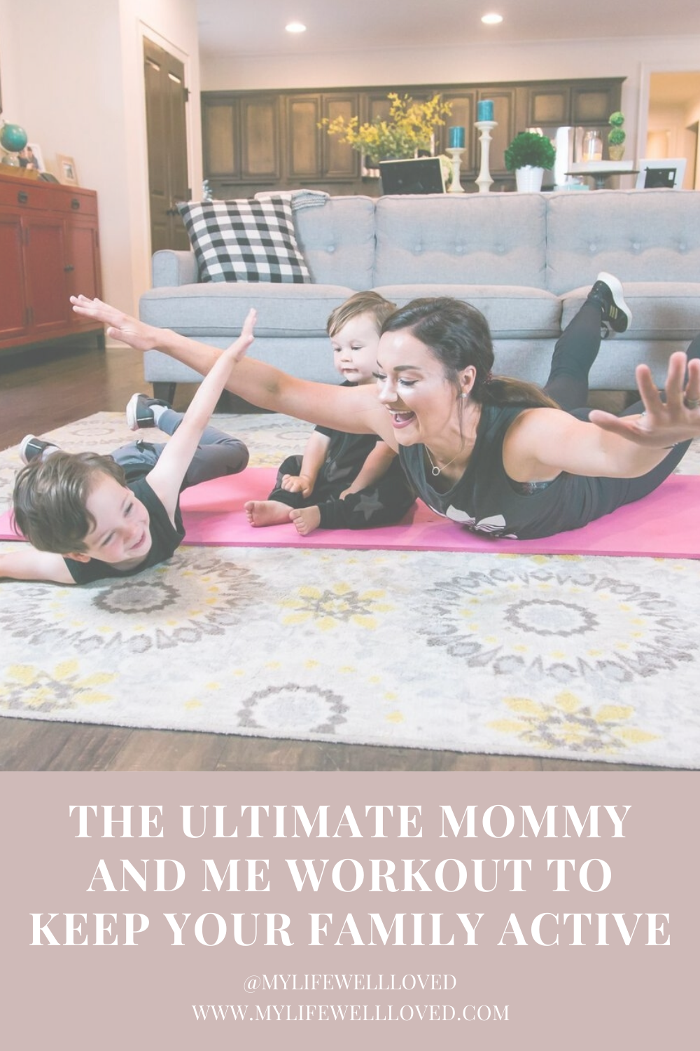 Mommy And Me Workout by Alabama Mommy + Fitness blogger, Heather Brown // My Life Well Loved