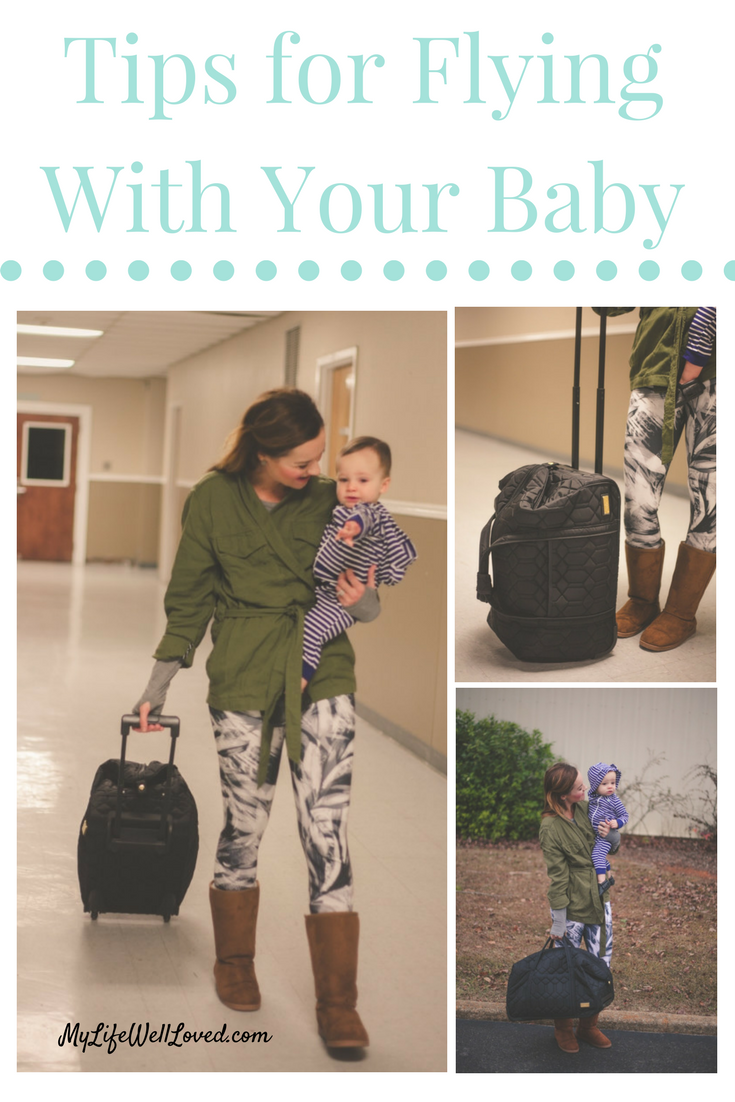 Baby Travel Tips: The motherload of traveling tips for a toddler or baby// travel tips with toddler // from Heather Brown of MyLifeWellLoved.com // Traveling with Kids // Traveling with Baby