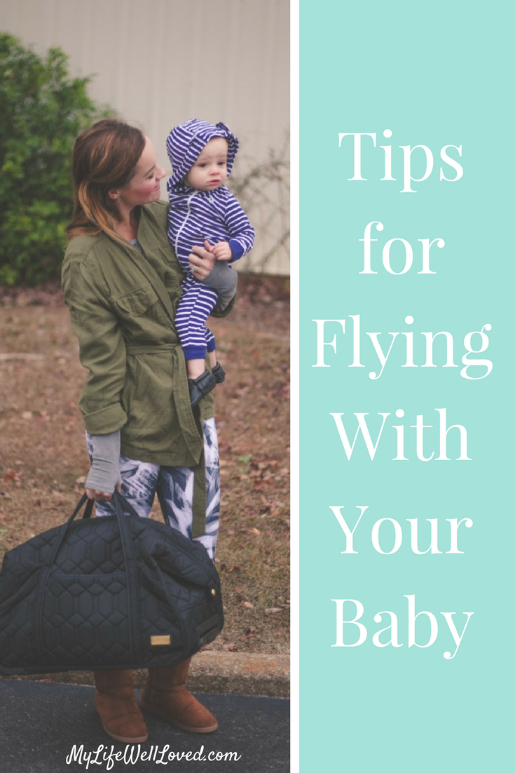Baby Travel Tips: The motherload of traveling tips for a toddler or baby// travel tips with toddler // from Heather Brown of MyLifeWellLoved.com // Traveling with Kids