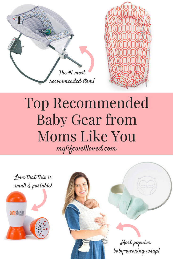 Registry Must Haves - Top Baby Registry Recommendations from the MLWL Community featured by popular Birmingham life and style blogger, My Life Well Loved