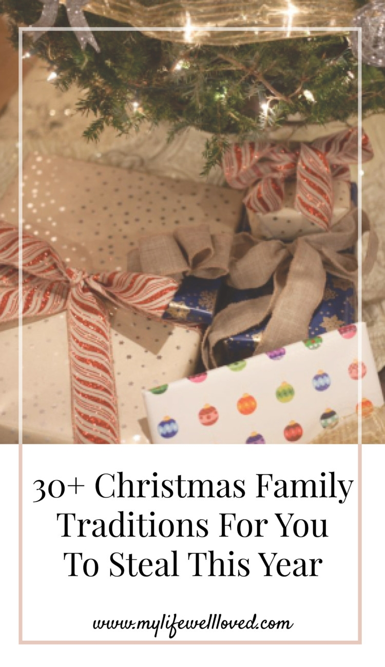 30+ Christmas Tradition Ideas featured by top Birmingham lifestyle blog My Life Well Loved