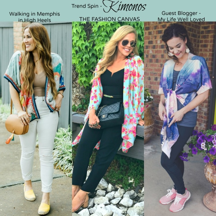 Kimonos Styled 3 Ways from Heather of MyLifeWellLoved.com // Athleisure Clothes