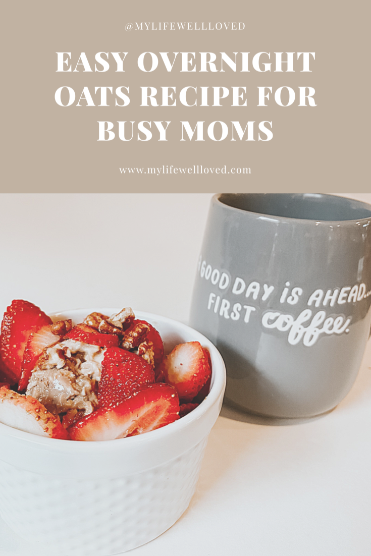 Breakfast Ideas: Easy Overnight Oats Recipe by Alabama Life + Style Blogger, Heather Brown // My Life Well Loved