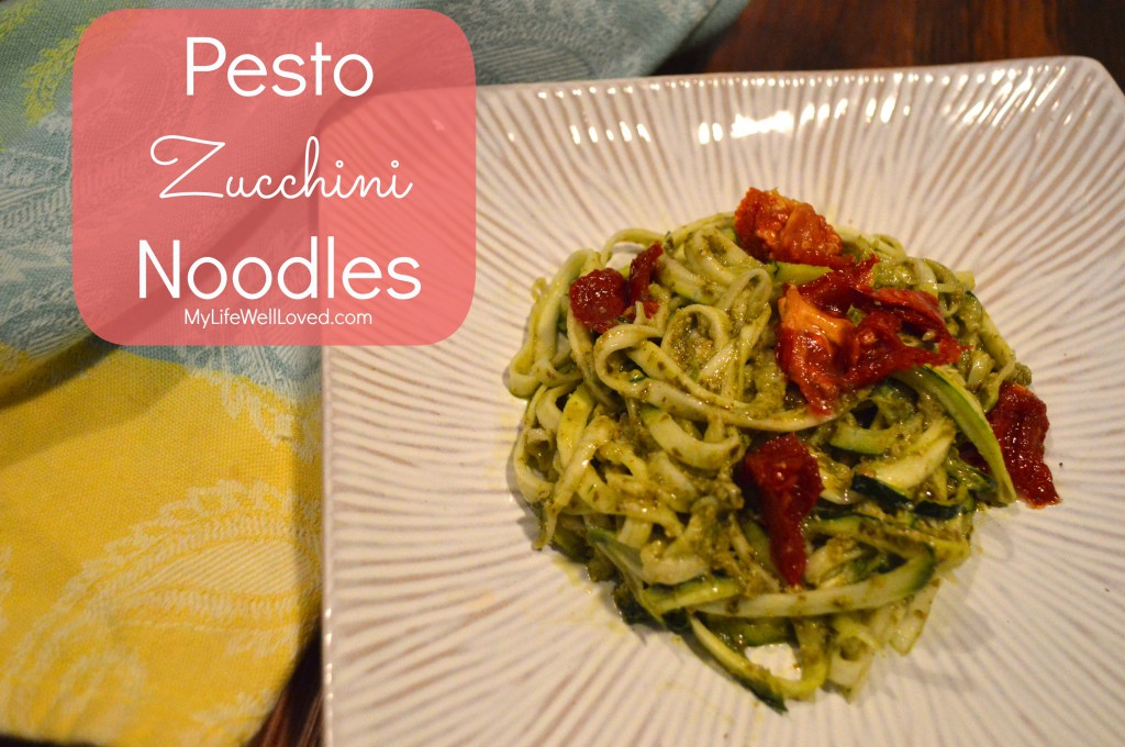 Clean Eating Gluten Free Zoodles
