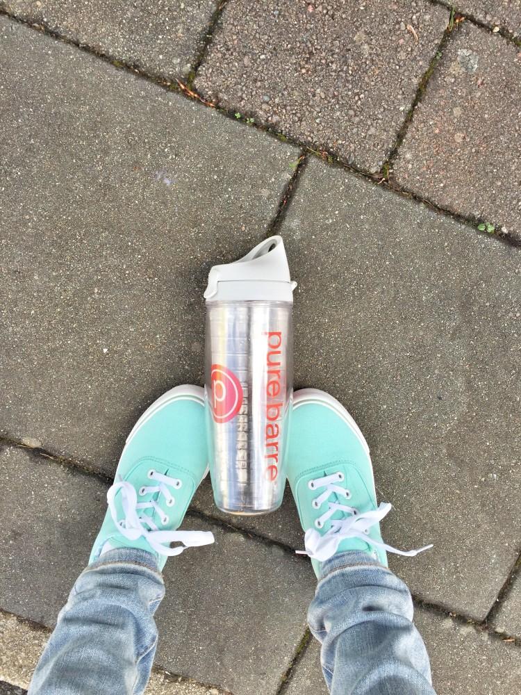 Pure Barre Water Bottle