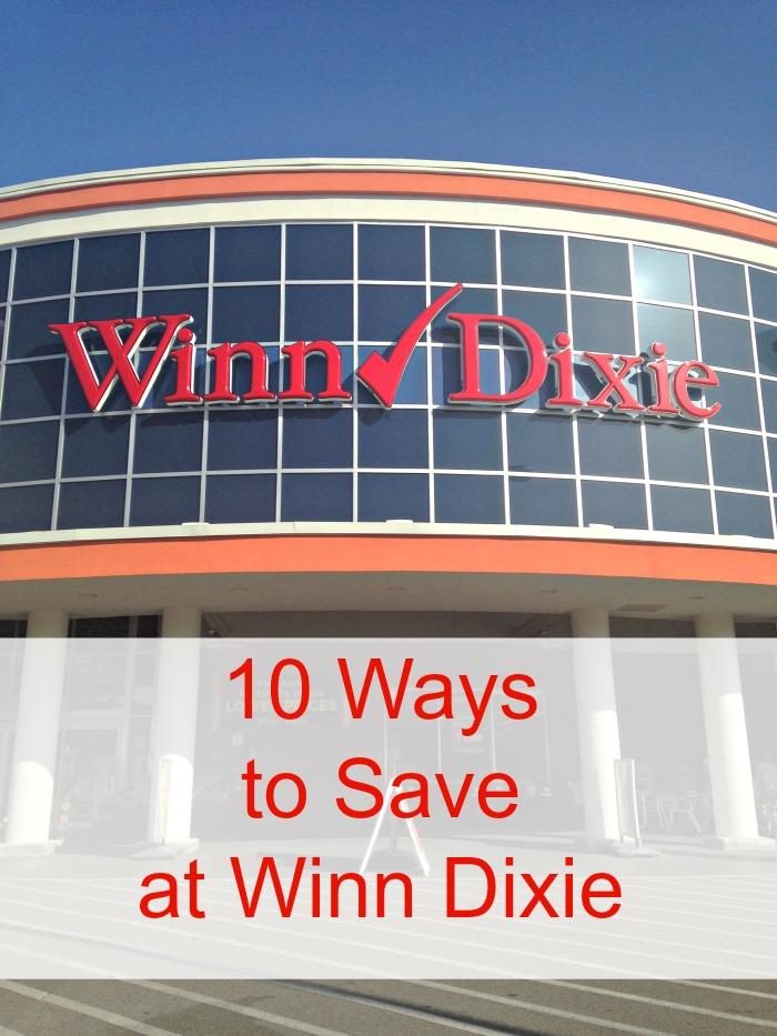 Ways to Save at Winn Dixie