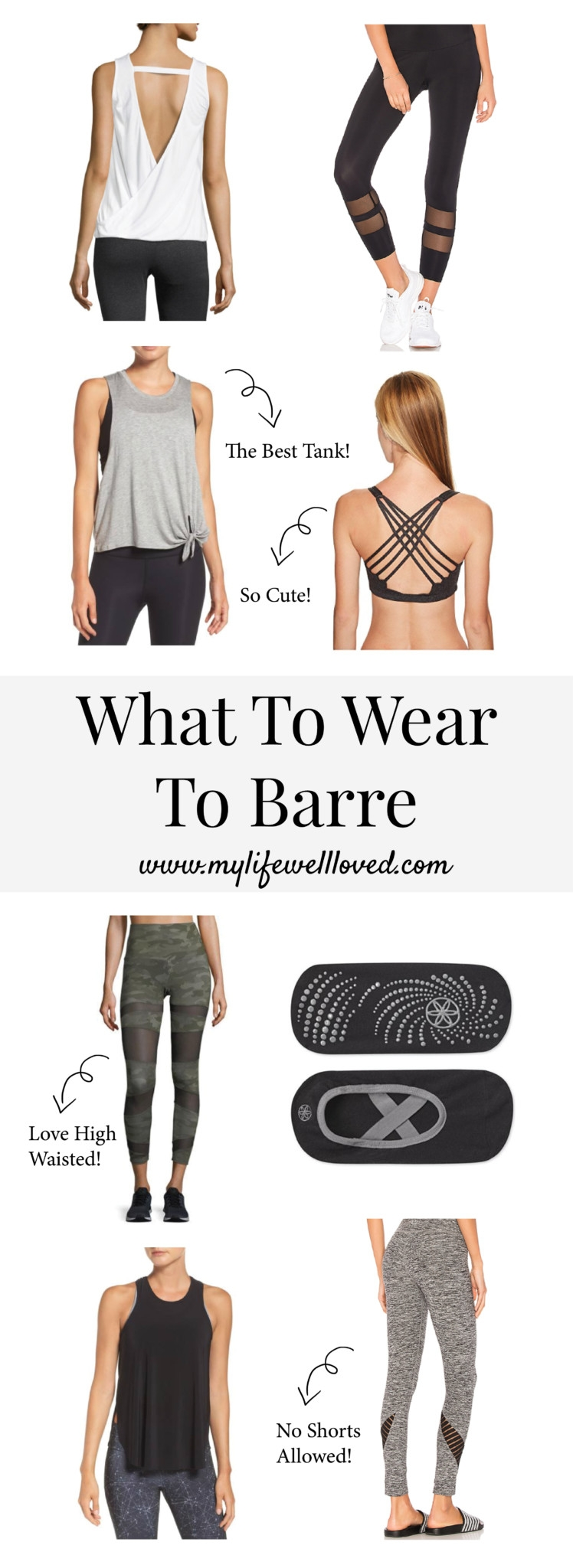 What to wear to barre from Alabama Pure Barre teacher Heather of MyLifeWellLoved.com // Pure Barre - What to Wear to Barre Class by popular Alabama fitness blogger My Life Well Loved
