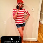DIY Where's Wenda Costume