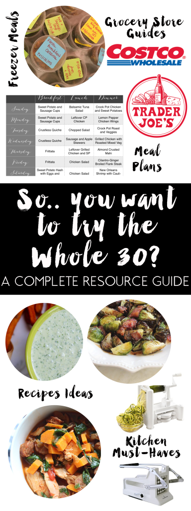 How to Start Whole30 Diet by AL blogger My Life Well Loved